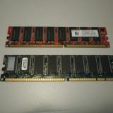 Kit 2 memorii RAM DDR1 512 MB (2 x 256) PC2700 333 MHz - Memorie RAM Kingmax, Dual channel