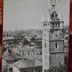 Republica Populara Romina - Vedere din Baia Mare - Editura Meridiane - Carte Postala Maramures dupa 1918, Circulata, Fotografie
