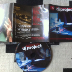 Dj project povestea mea cd disc muzica pop house trance texte cat music 2006