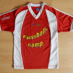 Tricou fotbal copii 10-12 ani Bespak Sport Fusball Camp; vezi dimensiuni; ca nou - Set echipament fotbal, Marime: Alta