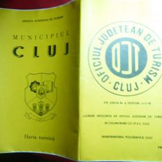 Harta - Plan turistic - municipiul CLUJ
