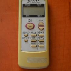 Telecomanda aer conditionat SHARP ORIGINALA, IMPECABILA ( AC ),