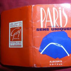 Ghid- Harta turistica - PARIS - Ed. A, Leconte