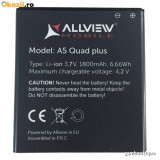 Acumulator Allview A5 Quad Plus original / swap, Li-ion