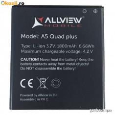 Acumulator Allview A5 Quad Plus original / swap, Li-ion