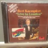 BERT KAEMPFERT - LIVE IN LONDON (1975/POLYDOR/GERMANY) - ORIGINAL/NOU/SIGILAT