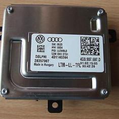 Droser, calculator lumini pozitie led, modul led pentru Volkswagen Sharan an 2011-2016 cod 4G0907967D sau cod echivalent Delphi 401140244, Produs NOU