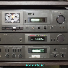 Linie audio AKAI AM-U03, AT-K03 si CS-M02