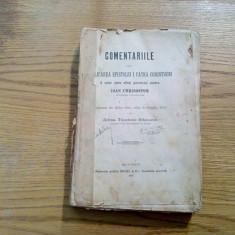 COMENTARIILE sau EXPLICAREA EPISTOLEI I CATRA CORINTHENI - Ioan Chrisostom - Carti Crestinism