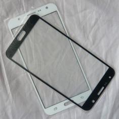 Geam Samsung Galaxy J5 negru ecran nou + folie sticla tempered glass - Geam carcasa