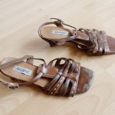 Pantofi Ariane din piele naturala; marime 38 (24.2 cm talpic interior) - Pantof dama, Culoare: Din imagine, Cu talpa joasa