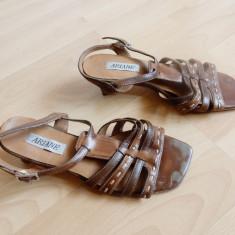 Pantofi Ariane din piele naturala; marime 38 (24.2 cm talpic interior) - Pantof dama, Culoare: Din imagine