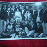 Fotografie- Delegatie Sportiva in Japonia 1960 , cu 2 gazde , dim. 12x 10 cm