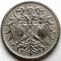 WW1, TRANSILVANIA, IMPERIUL AUSTRO - UNGAR, 10 HELLER 1915, Europa, Crom