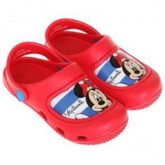 Saboti de plaja Disney Minnie rosu - Slapi copii