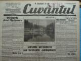 Cuvantul , ziar legionar , 7 Mai 1933 , articole Nae Ionescu , Perpessicius