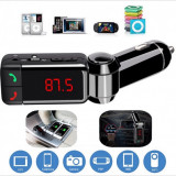 Wireless Bluetooth Hands-free Modulator FM, USB, SD - BC06 - HandsFree Car Kit
