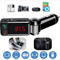 Wireless Bluetooth Hands-free Modulator FM, USB, SD - BC06