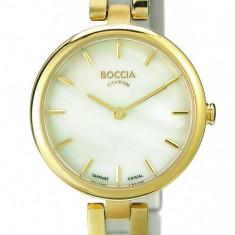 Ceas Boccia dama cod 3239-03 - pret 609 lei (Nou, original) - Ceas dama Boccia, Casual, Quartz, Titan, Analog
