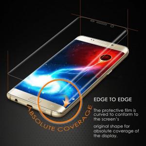 Folie Sticla Securizata Curbata / Tempered Glass Samsung Galaxy S7 edge / 9H