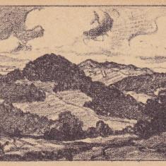 H.W. STILHAMMER. VEDERE DE PE UNGUREANA SI COSNA DIN TARGUL OCNA . FELDPOSTKARTE - Carte postala tematica, Necirculata, Printata