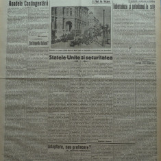 Cuvantul , ziar legionar , 6 Mai 1933 , articole Nae Ionescu , Mihail Sebastian