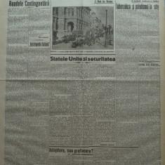 Cuvantul, ziar legionar, 6 Mai 1933, articole Nae Ionescu, Mihail Sebastian