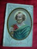 Ilustrata - Litografie - Paste - Sfantul Petru , inc.sec.XX