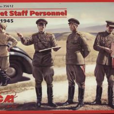 + Kit figurine 1/35 ICM 35612 - Soviet Staff Personel 1943-1945 (FARA CUTIE) +