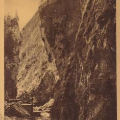 CHEILE OREZE DIN BUCEGI , TEMATICA  MUNTI  CIRC.1935 , I. TRETU COMERC., PREDEAL, Circulata, Printata