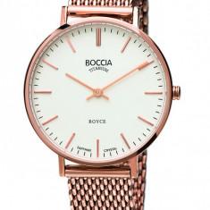 Ceas Boccia dama cod 3246-07 - pret 709 lei (Nou, original) - Ceas dama Boccia, Elegant, Quartz, Titan, Inox, Analog