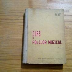 CURS DE FOLCLOR MUZICAL * Colectie de Cintece Populare - I. N. Nicola - 1963