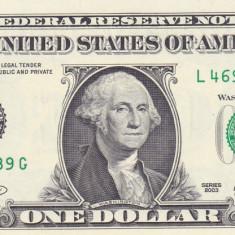 Bancnota Statele Unite ale Americii 1 Dolar 2003 (L = San Francisco) P515 - bancnota america