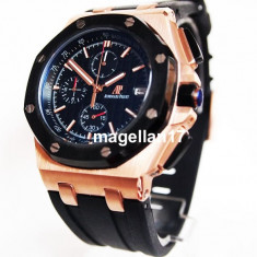 Audemars Piguet Royal Oak Offshore  Golden Case! ! ! Cutie Cadou !, Quartz, Inox, Cauciuc, Audemars Piguet