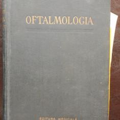 OFTALMOLOGIA - D. MANOLESCU - Carte Oftalmologie
