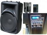 Cumpara ieftin PERECHE/SET 2 BOXE ACTIVE PROFESIONALE,600 WATT,MIXER,MP3 PLAYER,AFISAJ LCD.NOI.