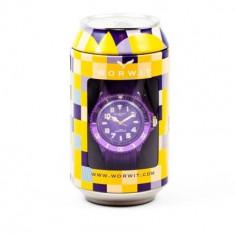 Ceas dama Worwit Star Purple - Ceas unisex Worwit, Otel