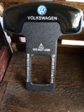 2 x Suport centura auto siguranta pentru VW elimina sunetul suparator set 2 buc