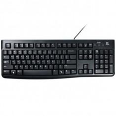 Tastatura Logitech K120 Business, USB, Neagra, Cu fir