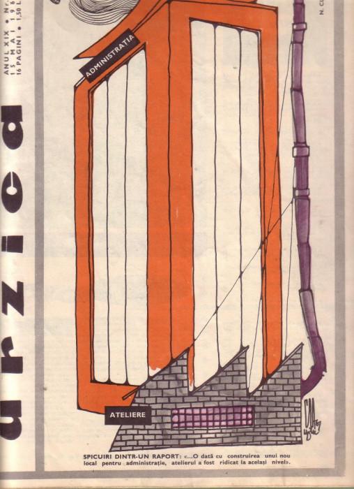 Revista Urzica nr.9 anul 1967 foto mare