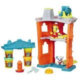 Jucarie Play-Doh Town Firehouse Playset - Jocuri arta si creatie