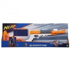 Pusca Nerf N-Strike Sharpfire - Pistol de jucarie Hasbro