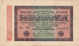GERMANIA 20.000 marci 1923 VF+!!!