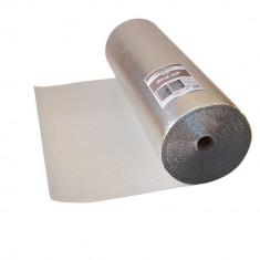 Folie bariera termica Isoflex Alu LP, folie bule metalizata, 60mp