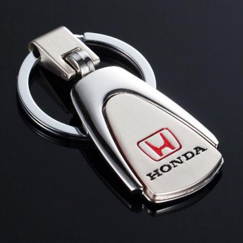 Breloc auto model pentru HONDA metalic + cutie simpla cadou foto mare