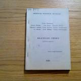REACTOARE CHIMICE * Caiet de aplicatii - O. Munteanu, Iosif Nagy - 1991, 310 p. - Carte Chimie