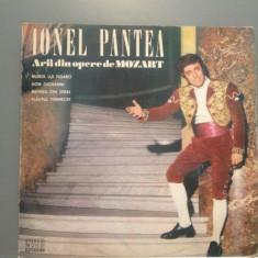 IONEL PANTEA - ARII DIN MOZART (EDE 01126/ELECTRECORD) - VINIL/Stare Perfecta - Muzica Opera