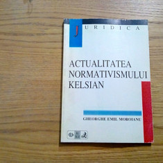 ACTUALITATEA NORMATIVISMULUI KELSIAN - Gh. Emil Moroianu - 1998, 154 p. - Carte Teoria dreptului
