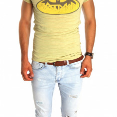 Tricou tip ZARA BATMAN - tricou barbati - tricou slim fit - 6637, Marime: S, M, L, XL, Culoare: Din imagine
