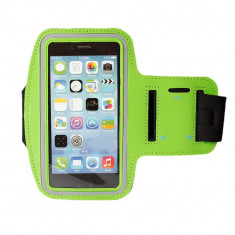 Husa brat jogging verde green Armband Iphone 6 plus